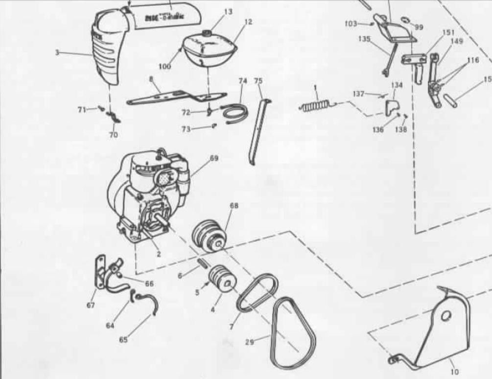 Teseh Lawn Tractor Wiring Schematic  Lawn Tractor Battery