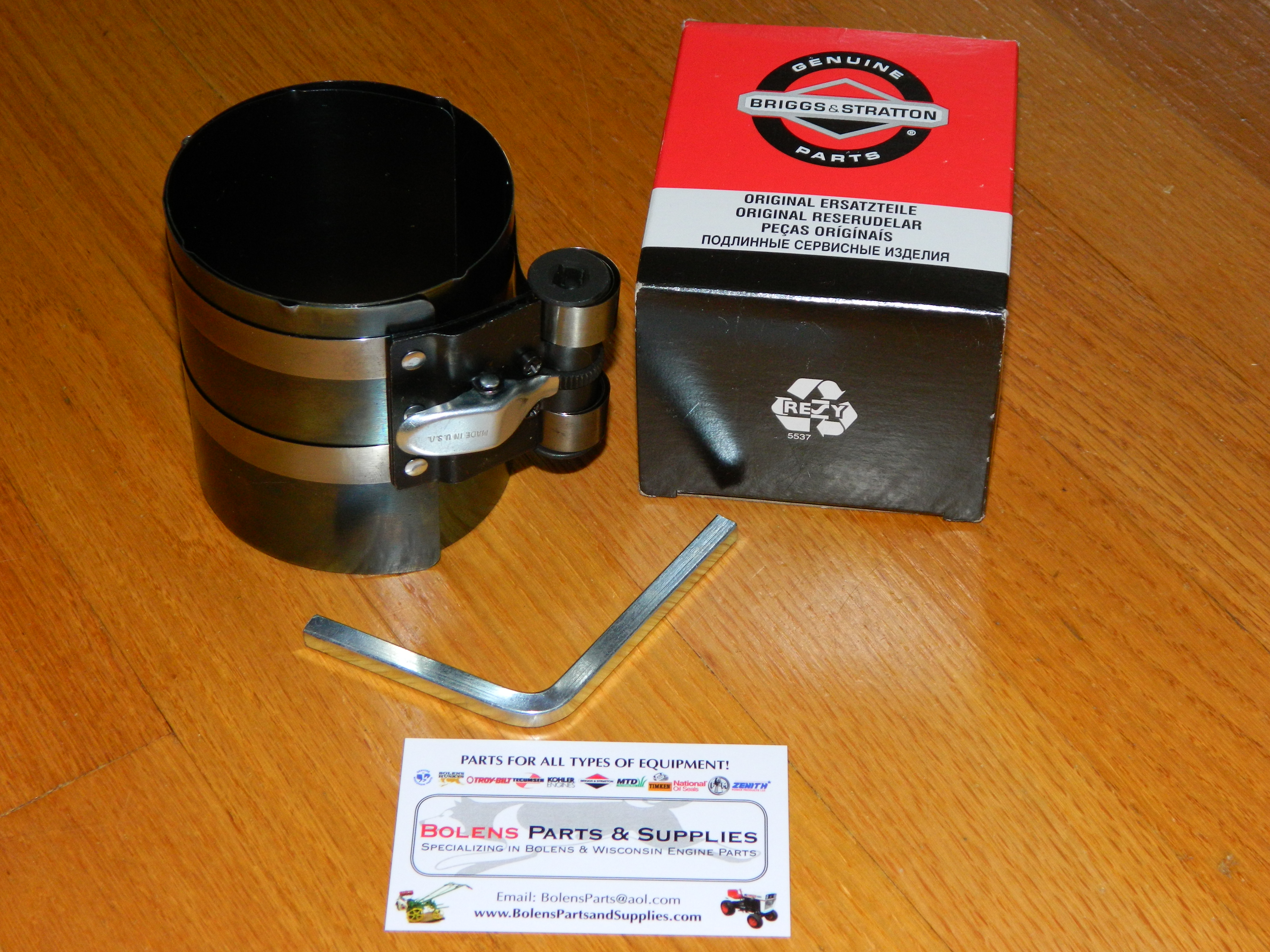 19230 Briggs and Stratton Piston Ring Compressor , fits Kohler, Wisconsin  and more