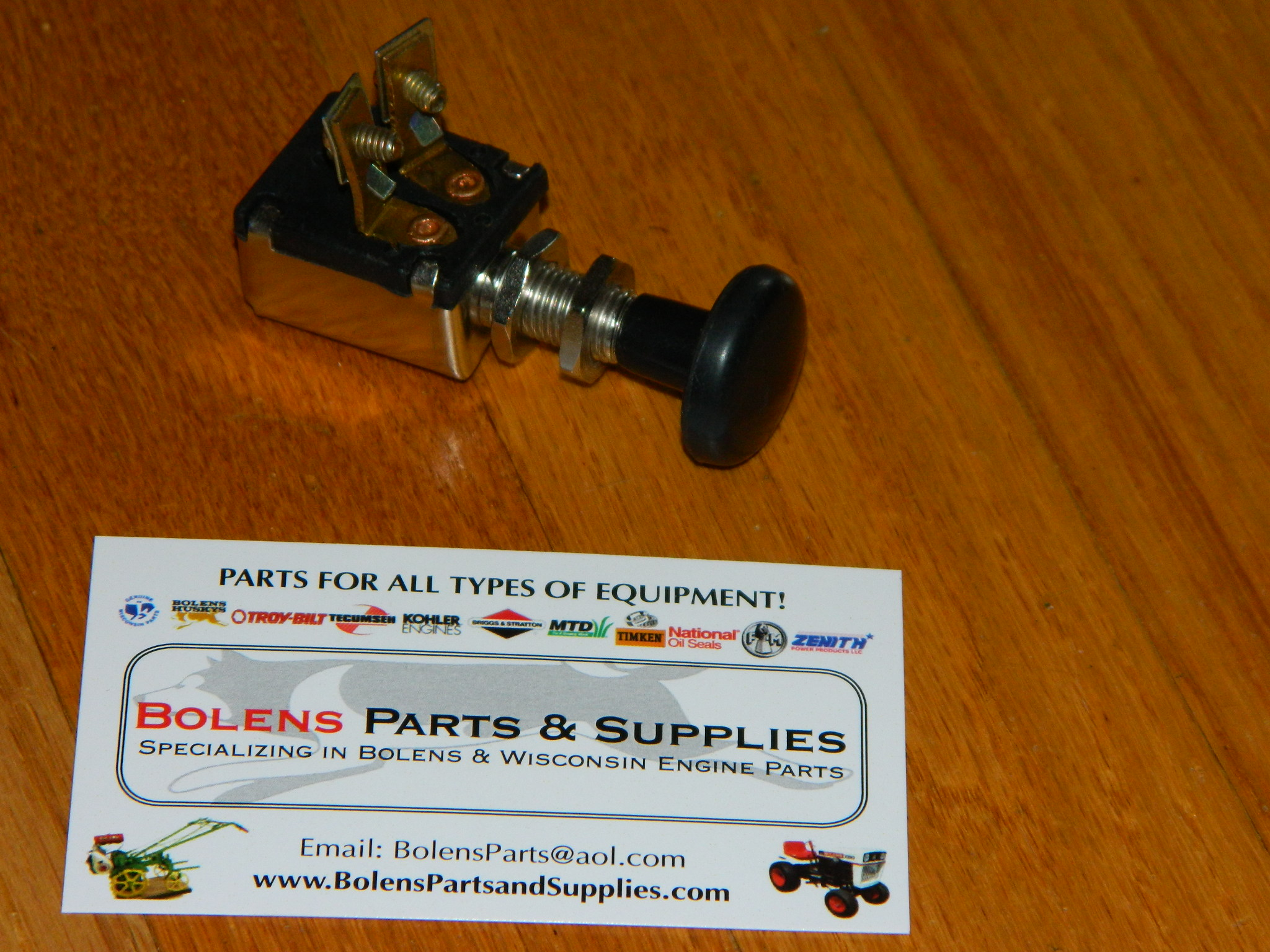 Bolens Parts Ignition Switches Stop And Lighting Sears Suburban Garden Tractor Push Pull Light Switch New Frame