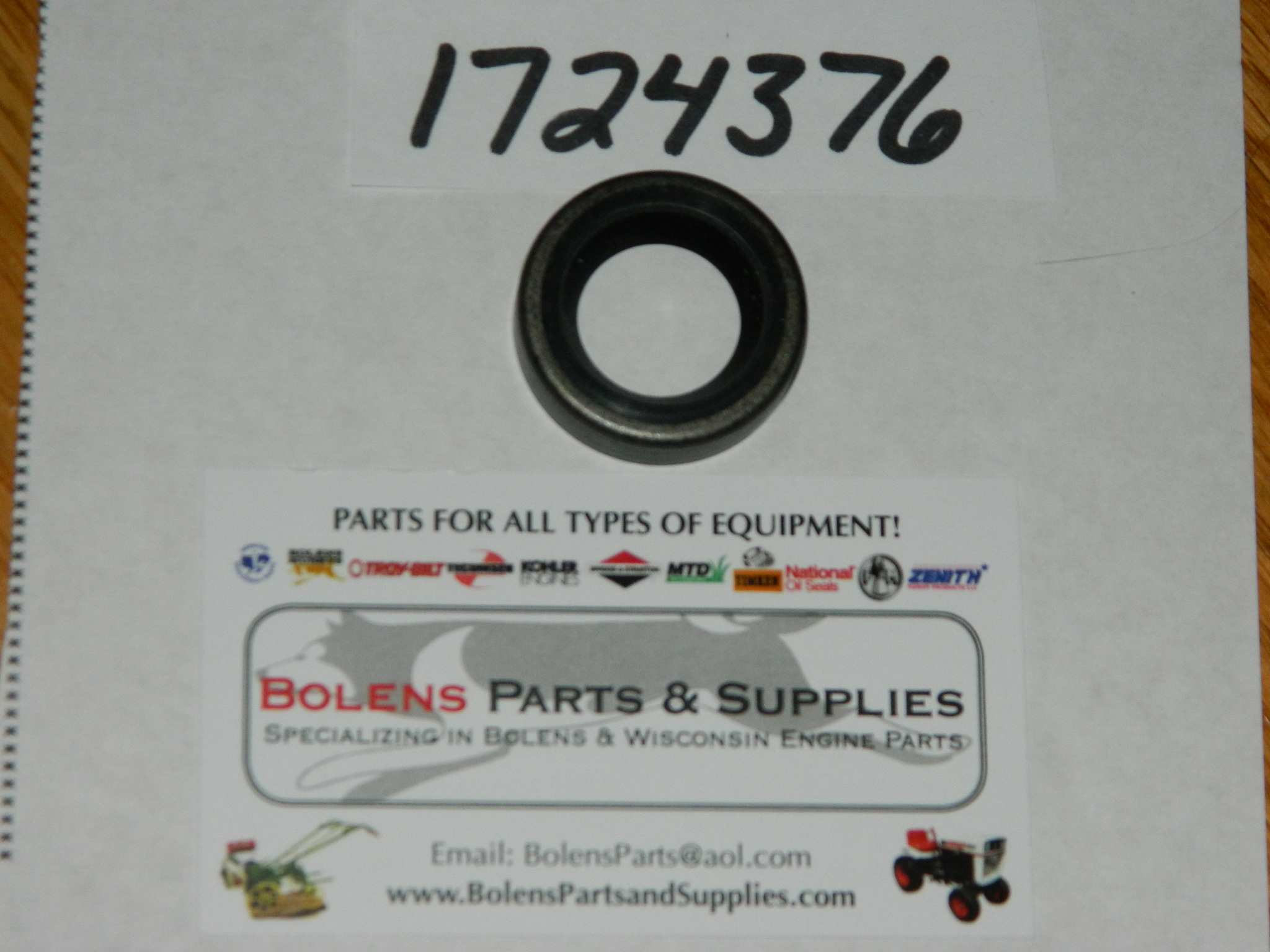 Bolens Eaton Transmission Input Oil Seal 1724376 172-4376 FREE SHIPPING!  Eaton 10 and others