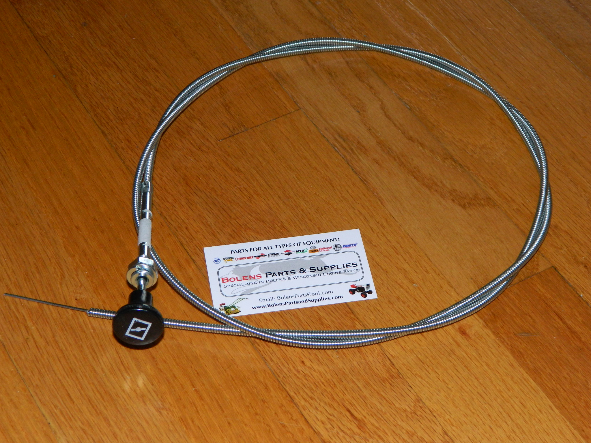 Bolens Parts :: Throttle & Choke Cables & accessories :: Sears ...