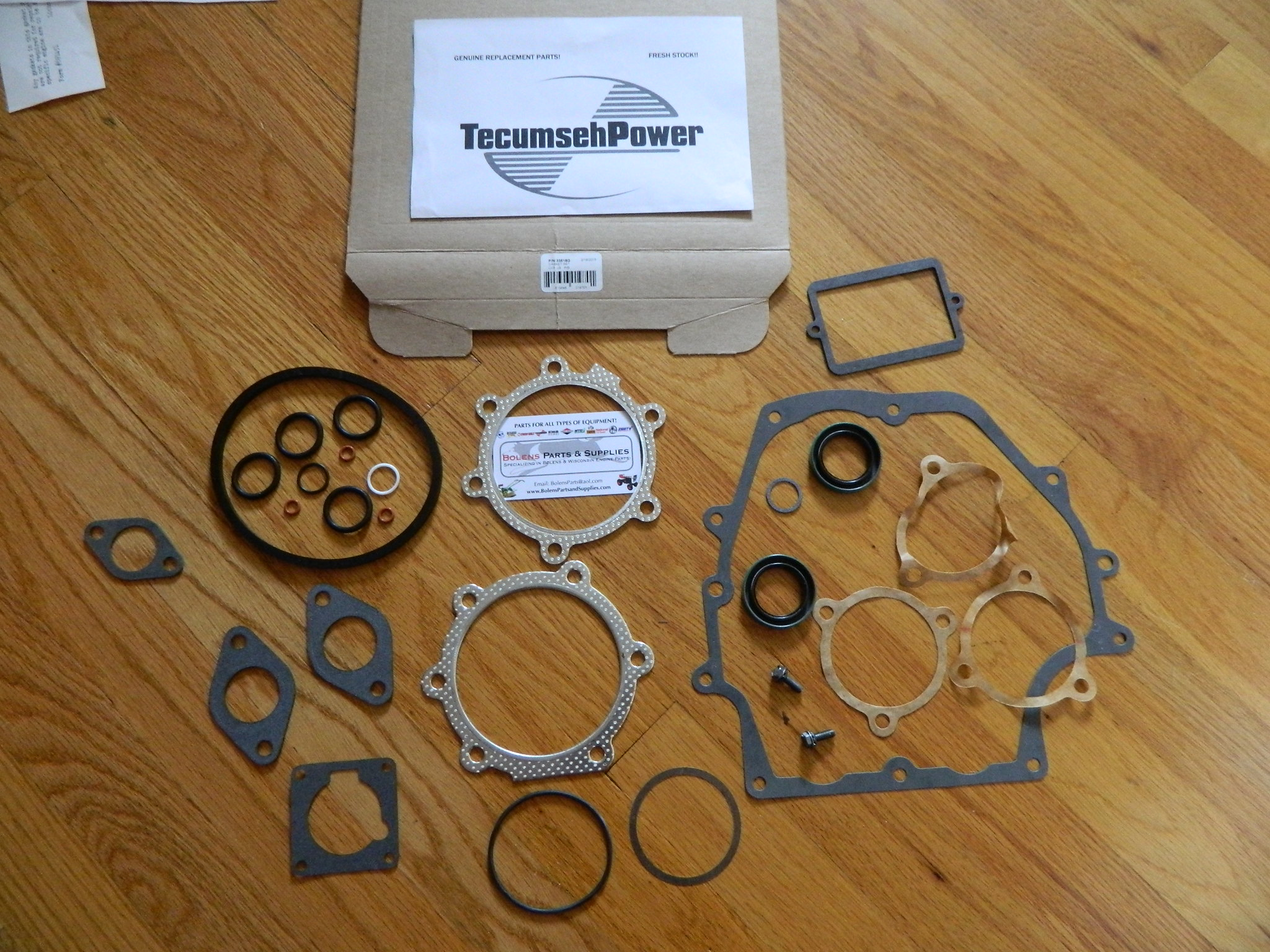 Gasket Set For Tecumseh Engine 36716A Replaces OH195 OHH OHSK50 Fr US free ship