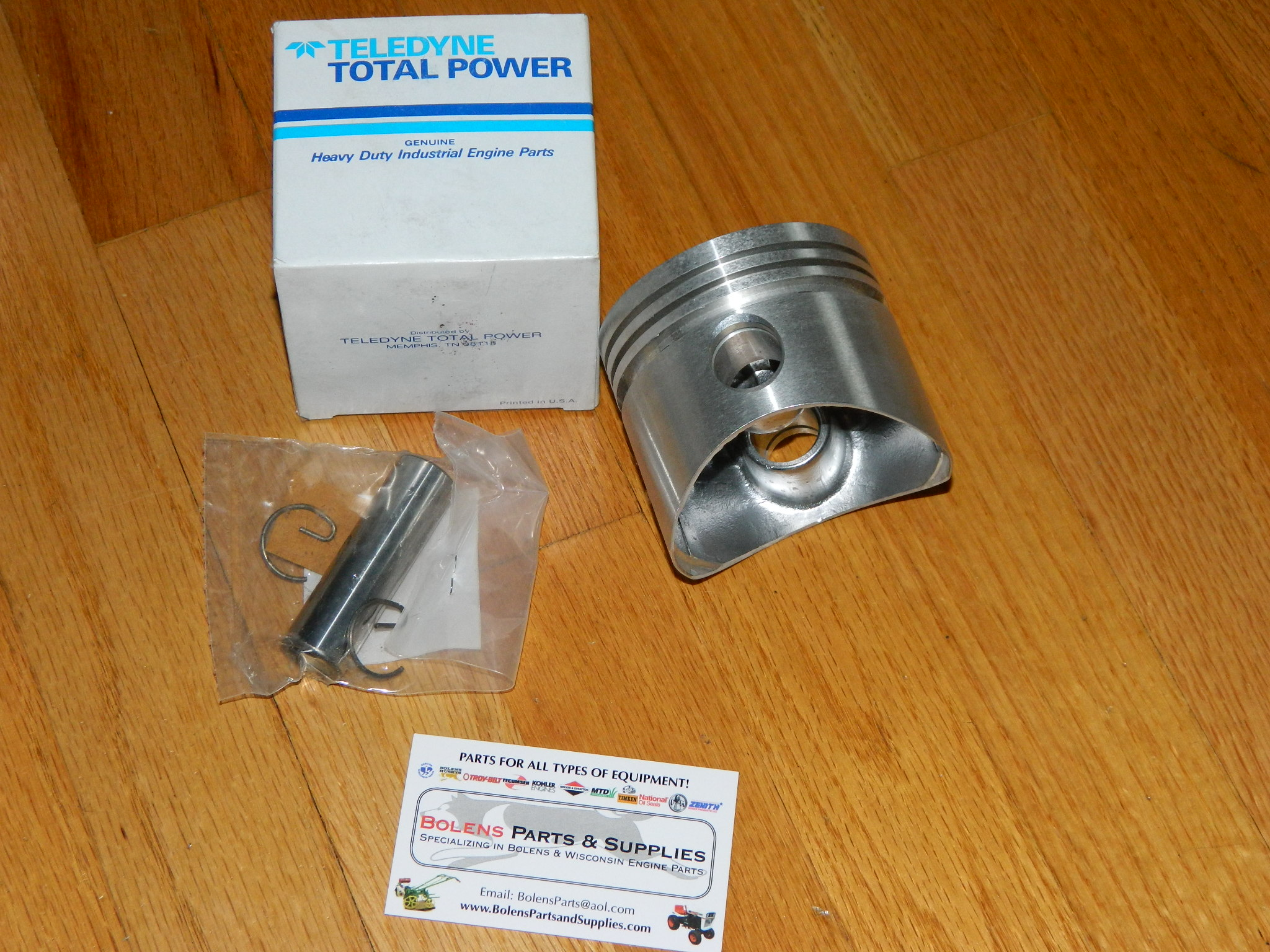 DB230-1SP Wisconsin Engine Piston assembly (STD) with pin TRA10D DB230 1SP  DB2301SP
