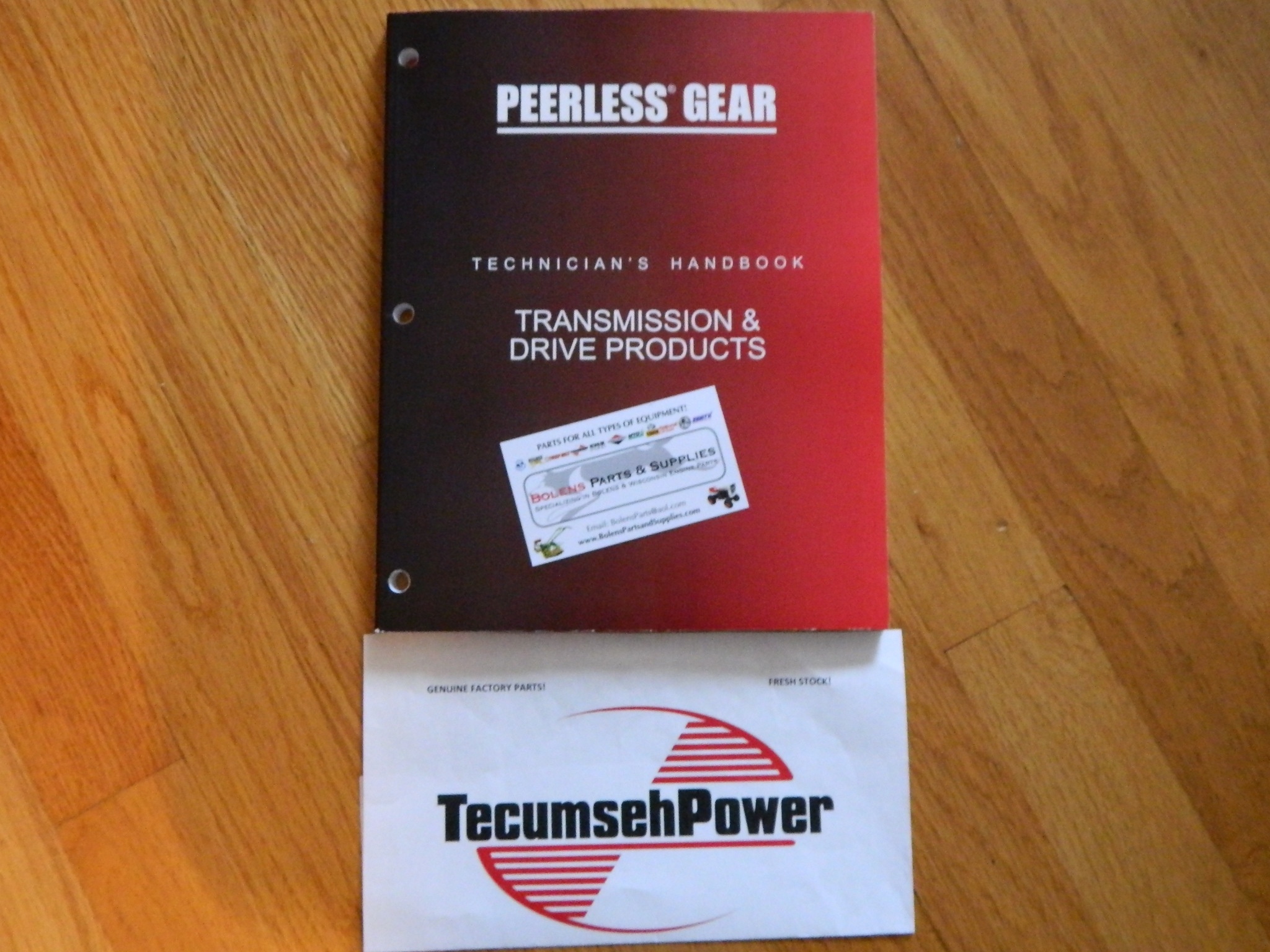 NEW Tecumseh / Peerless Transmission Repair and maintenance manual Edition  2011 691218