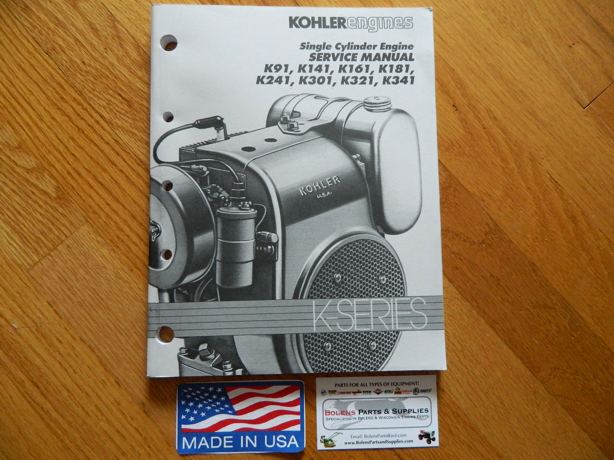 Kohler Engines Service Manual K341s Engine Diagram Small Parts Oem K Series K90 K91 K141 Rh Bolenspartsandsupplies Com Cv490 Maintenance