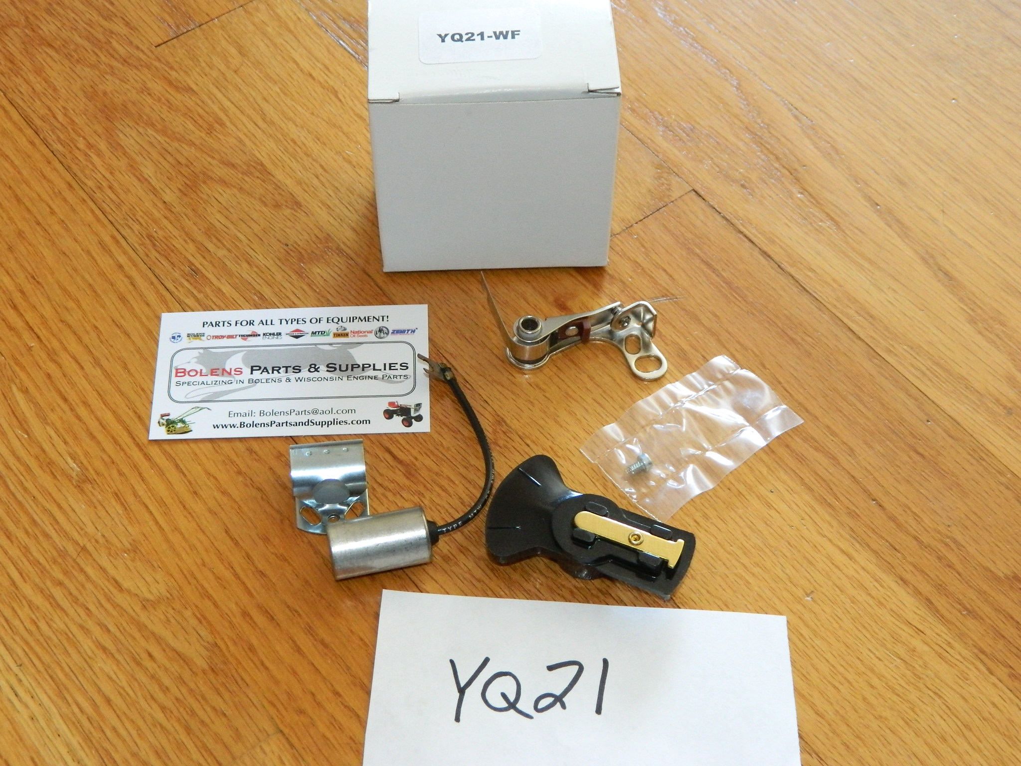 Wisconsin engine Distributor service kit Points ,condenser,Rotor YQ21 VH4D