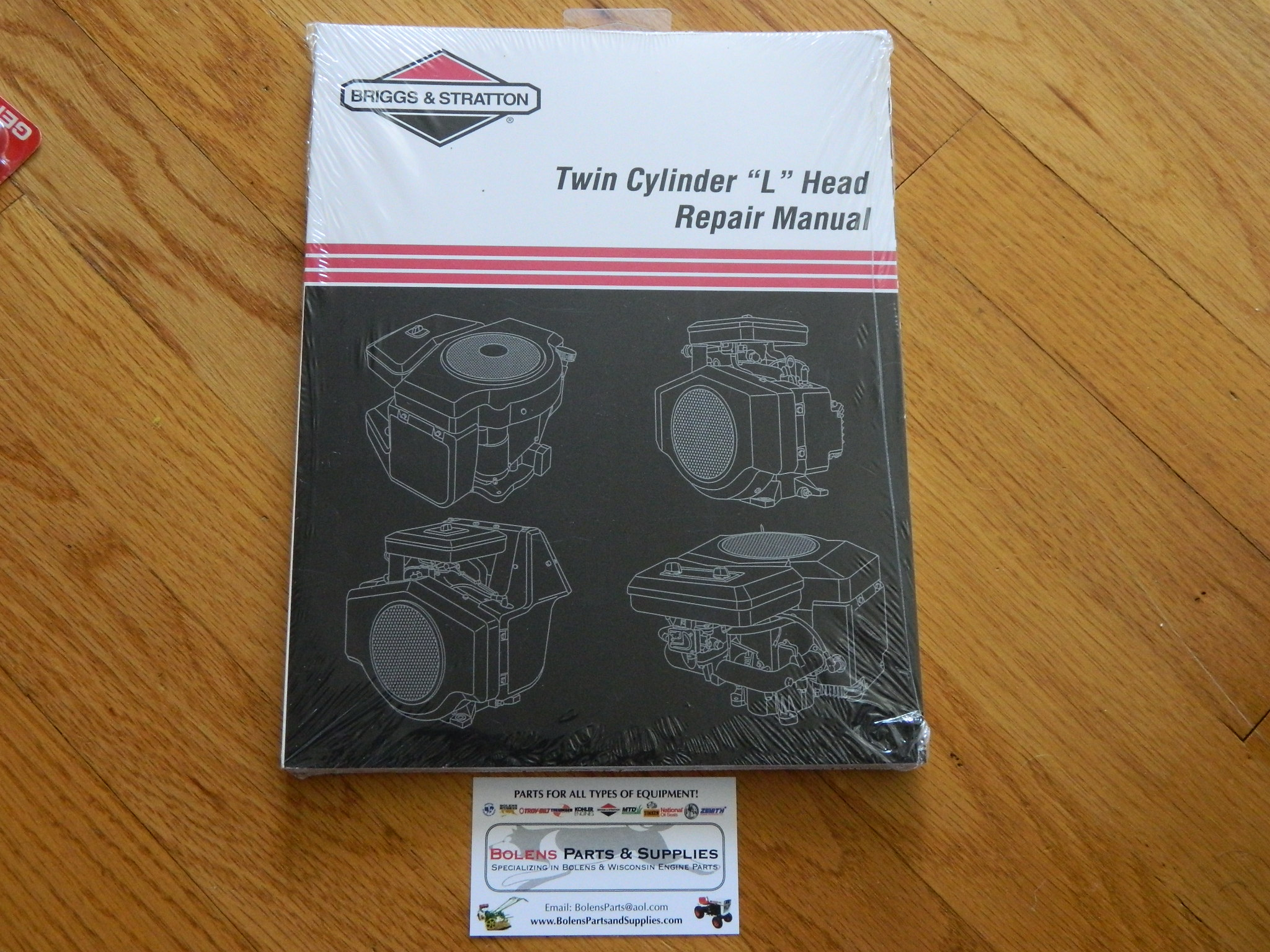 NEW BRIGGS & STRATTON Twin Cylinder L-Head Repair Manual 271172 Bolens  tractor