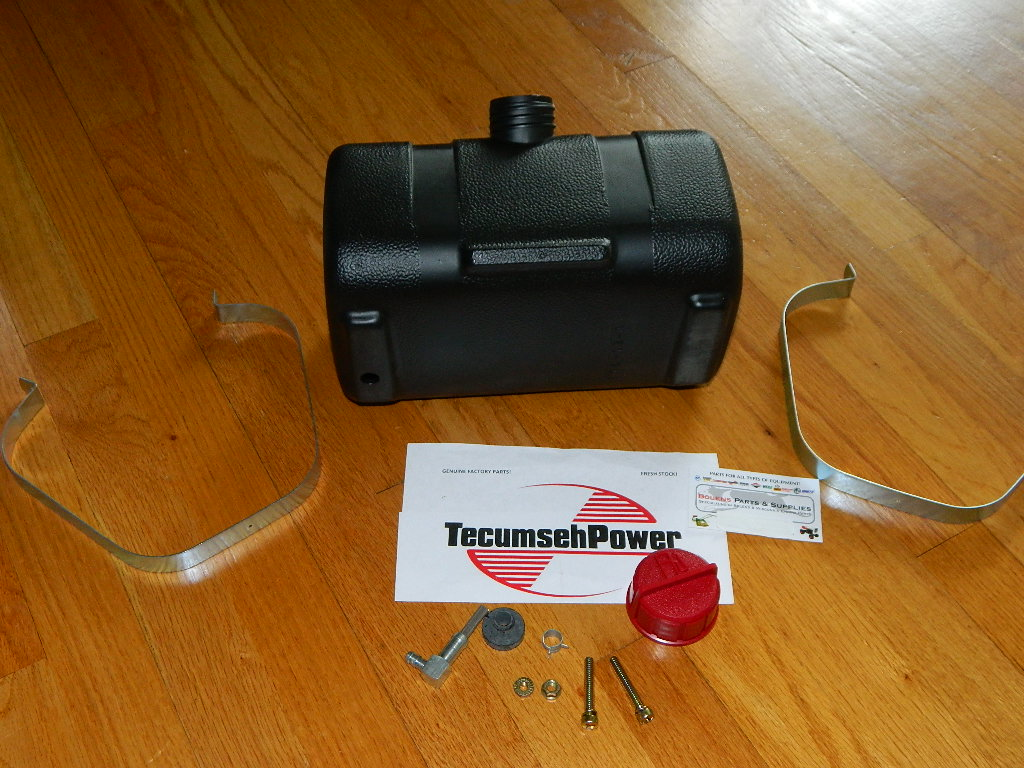 Mufflers For Sale >> Troy Bilt &Tiller parts :: NEW Tecumseh gas tank fuel tank ...
