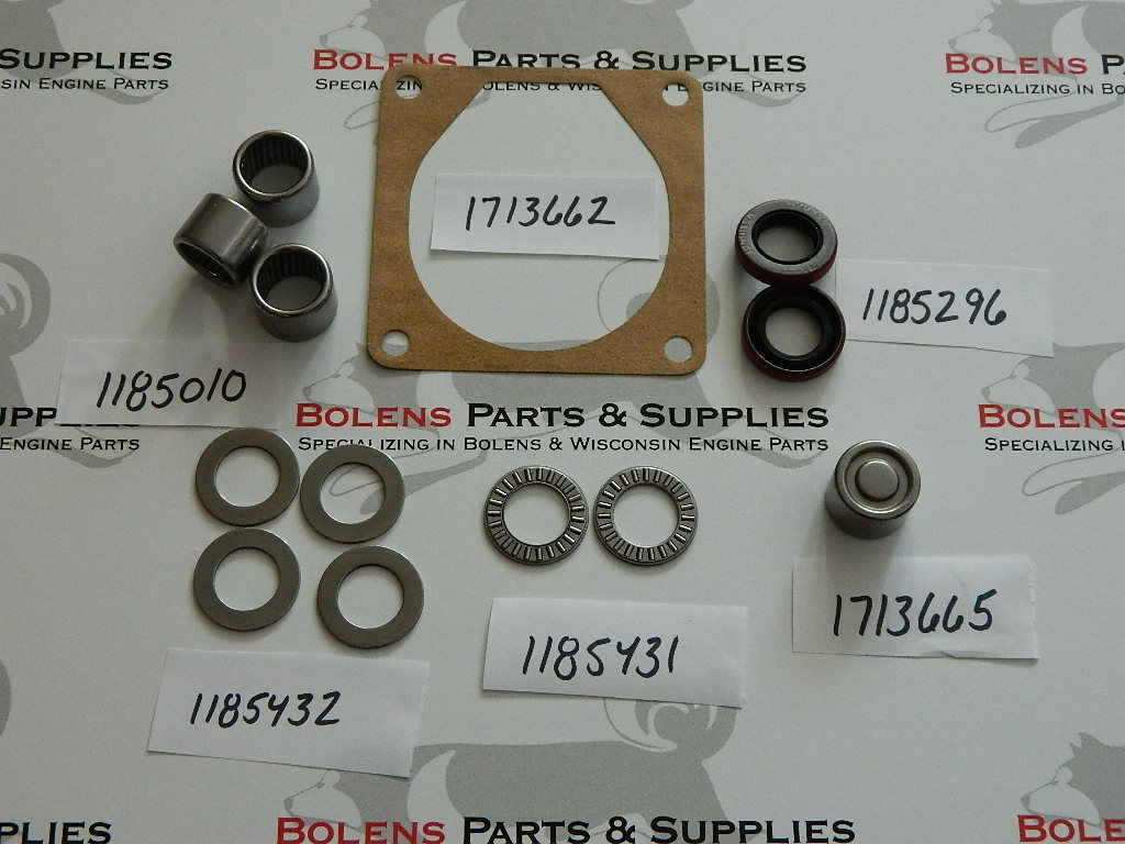Bolens Mower Deck & Snow Blower Gear box Rebuild Kit 1185010 1185296  1185431 1185432 1713665 1713662 171-3662