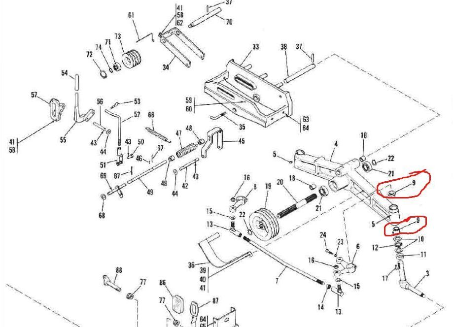 troy bilt tiller engine diagram